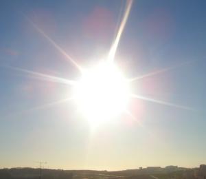 sun bright light