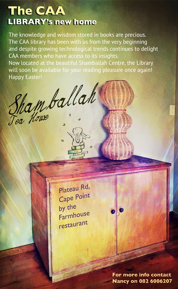 CAA library at Shamballah